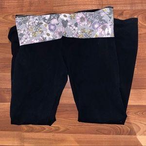 Victoria's Secret Floral Yoga Pants
